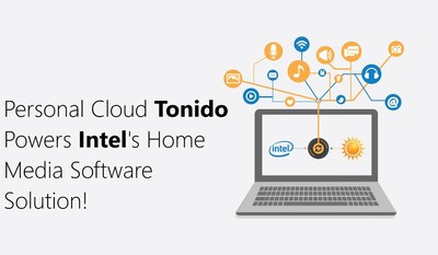 Personal Cloud Tonido Debuts Next Generation Software and Powers Intel Home Media Software