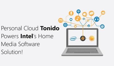 Personal Cloud Tonido Debuts Next Generation Software and Powers Intel Home Media Software
