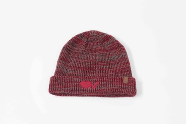 Limited-edition Roots Heart & Stroke Toque, CAD $26.00 (CNW Group/Heart and Stroke Foundation)