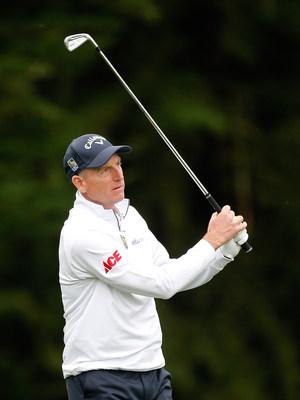 PGA TOUR golfer Jim Furyk wearing Ace branded logo (Photo Credit: Getty Images)