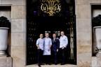 Le Four Seasons Hotel George V, Paris devient le premier Hôtel en Europe à proposer 3 restaurants étoilés au Guide Michelin