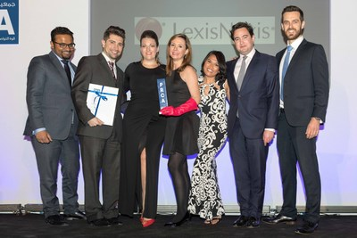Instinctif Partners receives Best PR Crisis Communications Campaign Award at PRCA MENA (PRNewsFoto/Instinctif Partners)