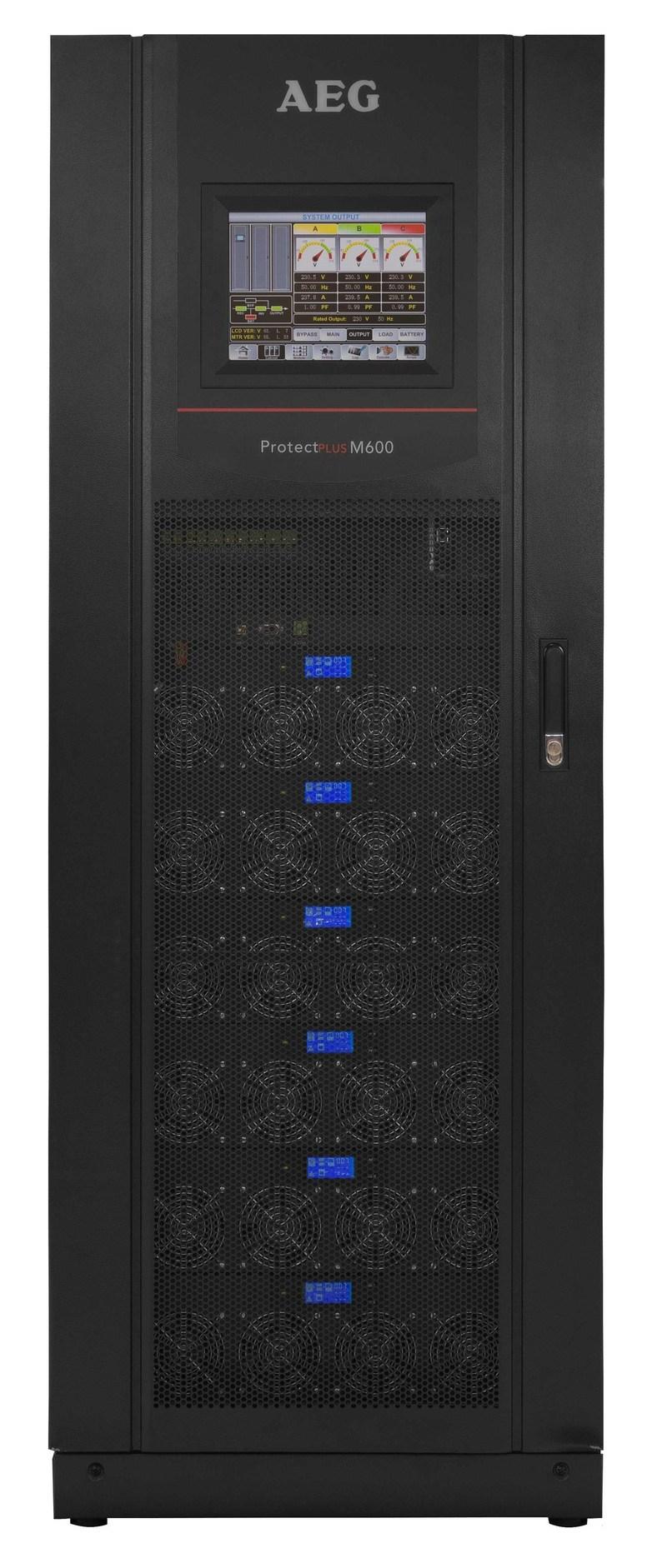 Protect Plus M600 Modular UPS by AEG Power Solutions (PRNewsFoto/AEG Power Solutions)