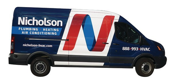 Nicholson Plumbing, Heating and Air Conditioning are experts at caring for heating and air conditioning systems.