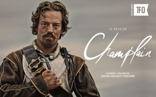 Maxime Le Flaguais, starring Samuel de Champlain (CNW Group/Groupe Média TFO)