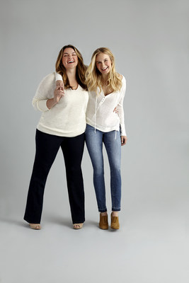 Ladies of all shapes and sizes--ranging from 0P to 24W--can find their perfect denim fit with Fitcode and JAG Jeans.