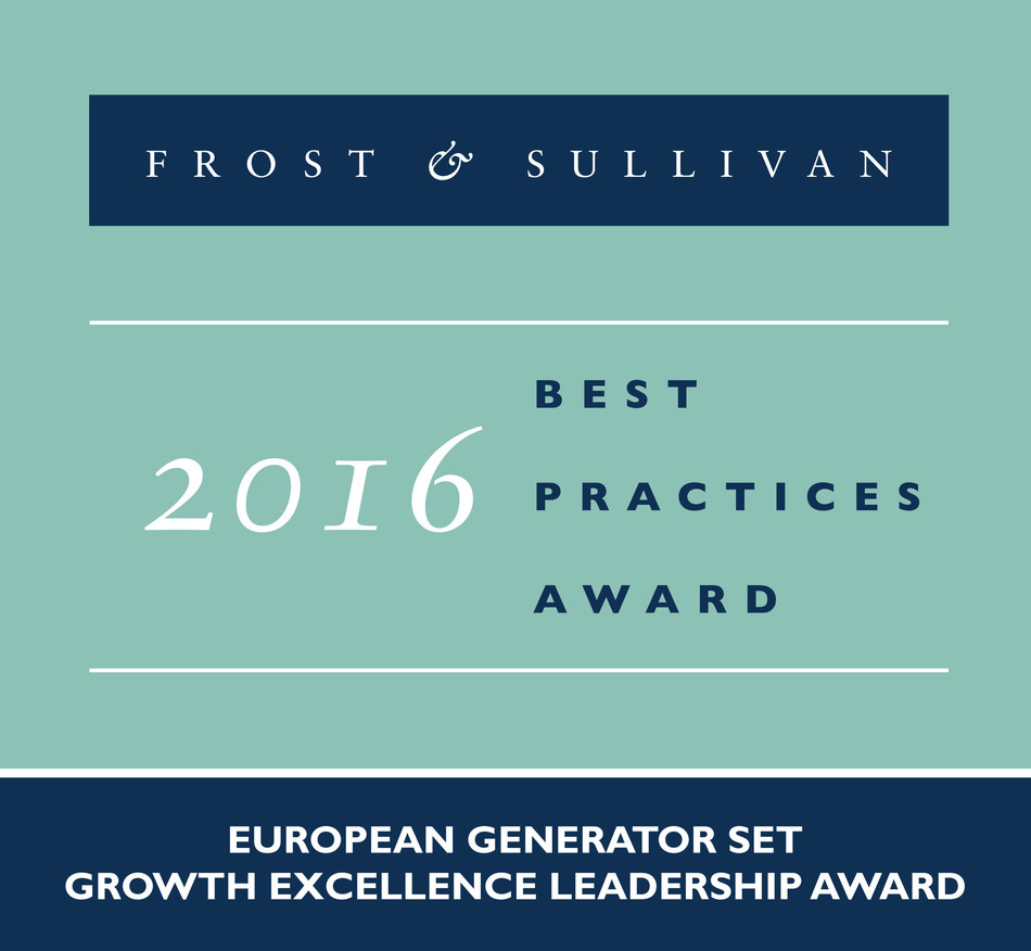 Frost & Sullivan recognizes Himoinsa with the 2016 European Growth Excellence Leadership Award.