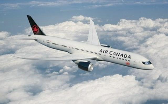 Air Canada dévoile une nouvelle livrée inspirée par le Canada (Groupe CNW/Air Canada)