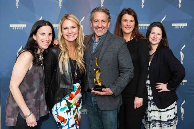 Winners of the North American Excellence Awards 2015 with Jury member Jim Joseph (Cohn & Wolfe)