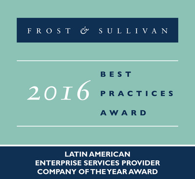 Frost & Sullivan Recognizes Level 3 with the 2016 Latin American Enterprise Services Provider Company of the Year Award