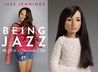 Jazz Jennings book cover and Jazz Jennings doll by Tonner Doll Company, Inc., debuting at New York Toyfair February 18, 2017.