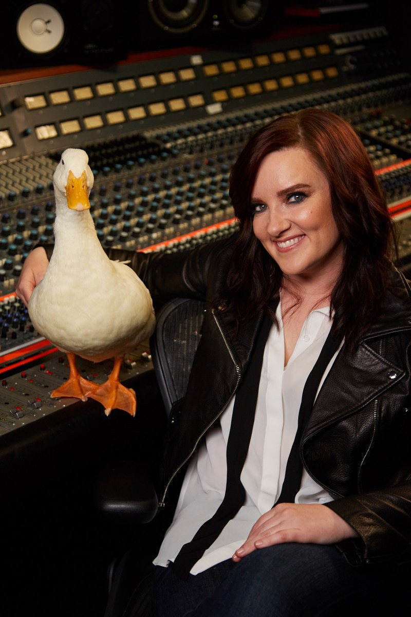 GRAMMY nominee Brandy Clark and the Aflac Duck collaborate to help ensure musicians and fans are protected during life's unexpected moments.