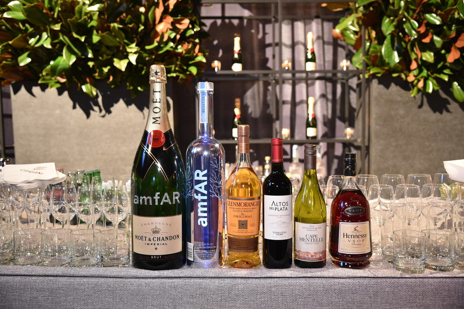 Moët Hennessy Reaffirms Global Partnership with amfAR at the 19th Annual amfAR New York Gala