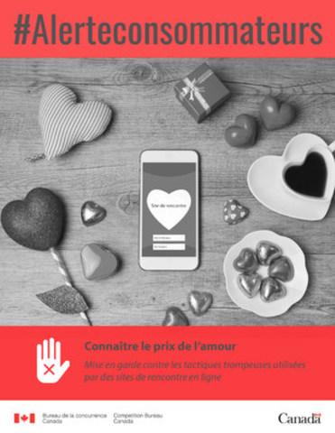 cnw alerte aux consommateurs conna tre le prix de l 39 amour. Black Bedroom Furniture Sets. Home Design Ideas