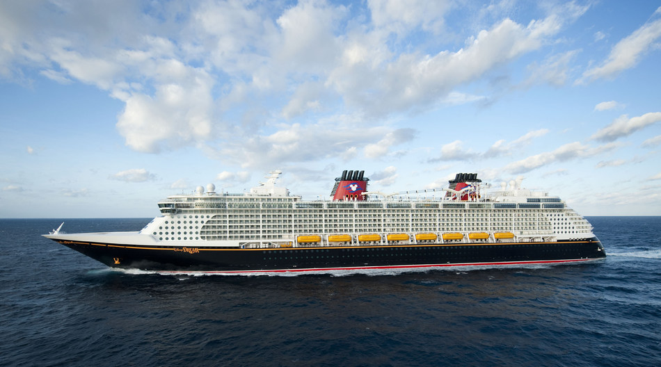 The Disney Dream continues the Disney Cruise Line tradition of blending the elegant grace of early 20th century transatlantic ocean liners with contemporary design to create one of the most stylish and spectacular cruise ships afloat. The Disney Dream offers modern features, new innovations and unmistakable Disney touches. (David Roark, photographer)