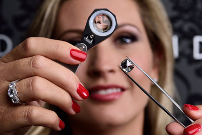 U.S.A.'s Largest Lab-Grown Diamond, 6.28 Carats, Examined by MiaDonna & Company CEO, Anna-Mieke Anderson