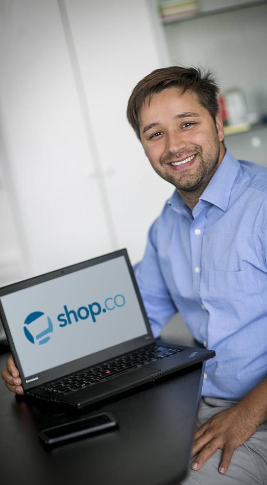 Jay Habib, Shop.co CEO