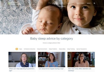 Advice videos from top pediatric sleep experts