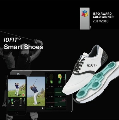 Salted Venture dedicated to creating IOFIT smart shoes, has been honored and selected for ISPO 2017 Gold Winner Award