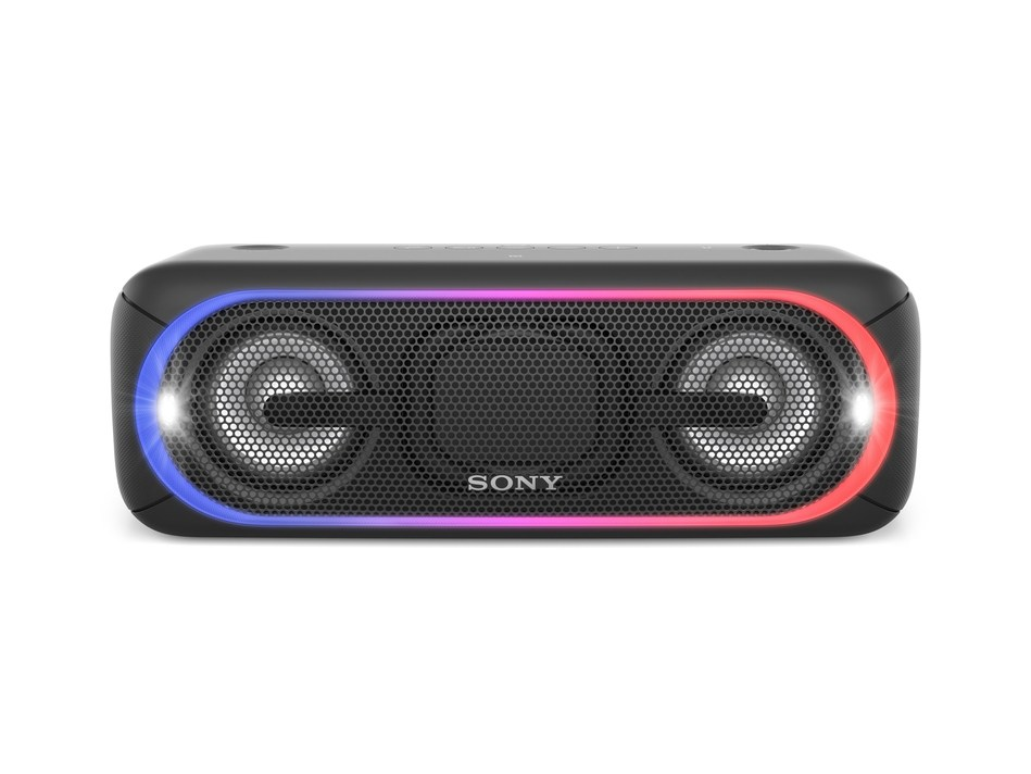 Sony's new EXTRA BASS SRS-XB40 Wireless Speaker, made for today's heavy-hitting bass lines
