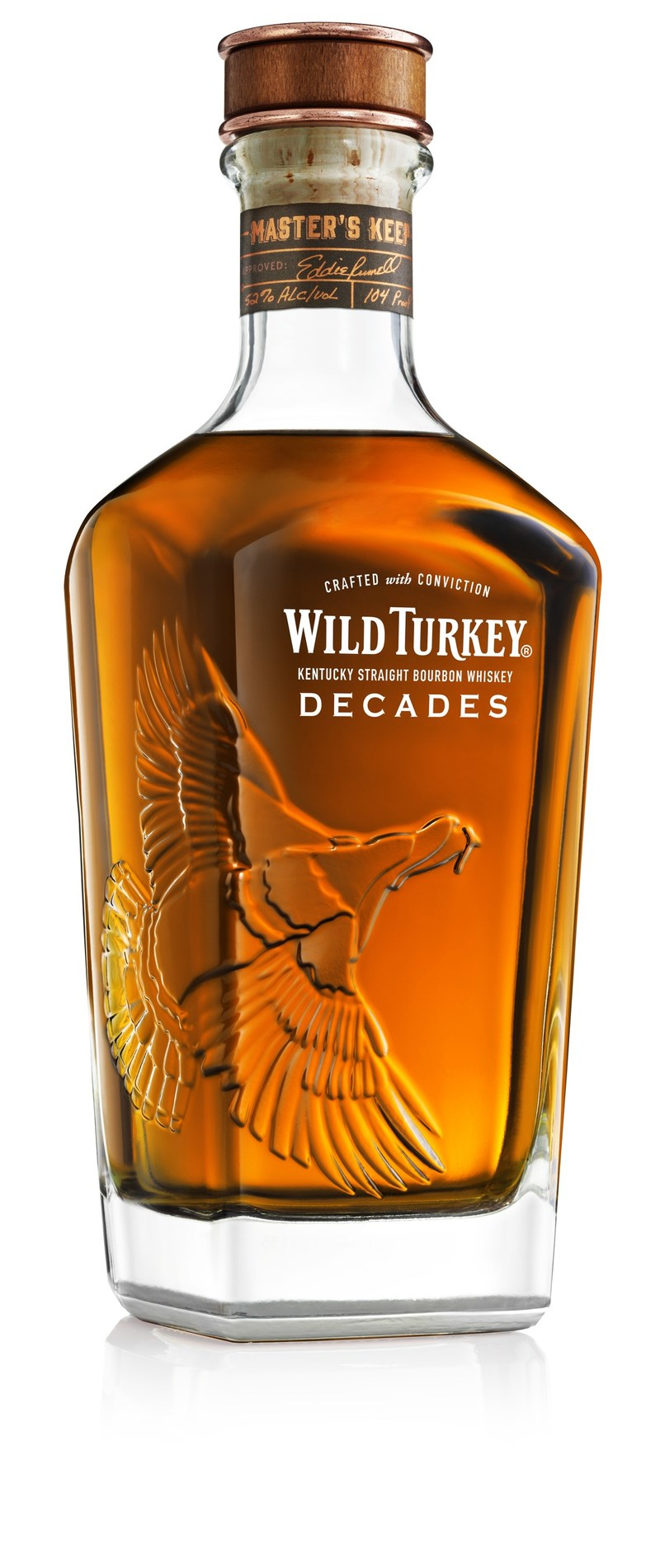 Celebrating the 35th anniversary of Master Distiller Eddie Russell, Wild Turkey(R) is releasing Master's Keep Decades, the second limited-edition Bourbon in the Master's Keep series.