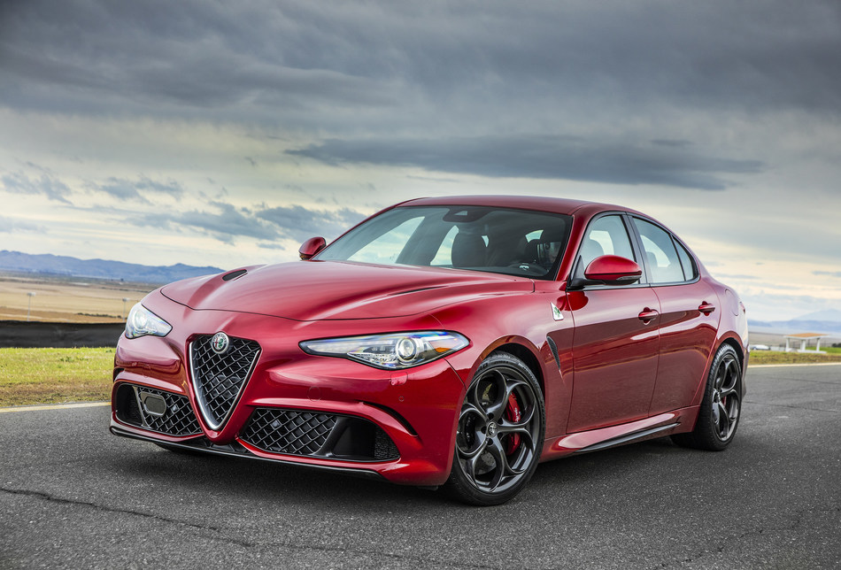 "All-new 2017 Alfa Romeo Giulia Quadrifoglio named ""Car of Texas"" & ""Performance Sedan of Texas"""