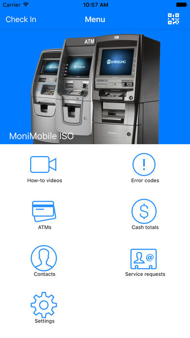 MoniMobile ISO gives users all of the features found in the MoniMobile Merchant app, including the ability to scan your fleet for capturing and logging accurate ATM information, error assistance with scanning, prompted corrective actions and much more.