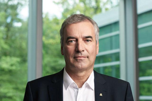 René Moreau devient le nouveau président d'Agropur coopérative. Crédit photo : Guillaume Simoneau (Groupe CNW/Agropur)