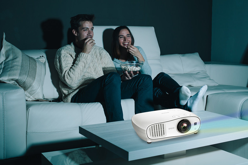The Home Cinema 3700 delivers a vivid, immersive viewing experience for memorable entertainment with friends.