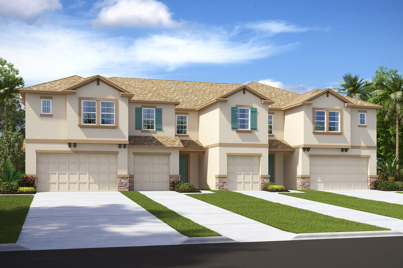 The public is invited to tour stunning model homes at CalAtlantic's newest Tampa area townhome community during a Grand Opening celebration being held Saturday, February 11 and Sunday, February 12.