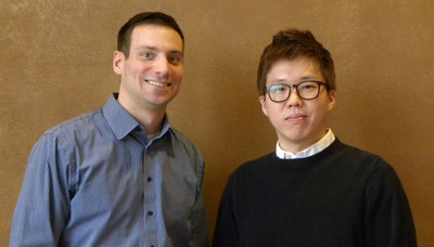 Jeff Bersch and Jay Lee, new Product Design Engineers at TricorBraun.