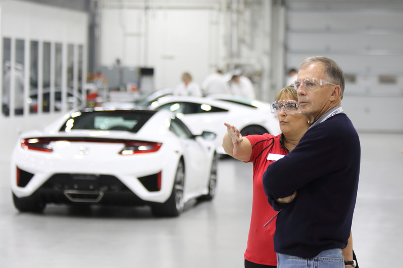 The NSX Insider Experience gives owners exclusive access to the making of their own supercar.