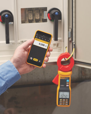 With the new Fluke(R) 1630-2 FC Stakeless Earth Ground Clamp, electricians and maintenance technicians can measure earth ground loop resistances for multi-grounded systems using only the dual-clamp jaw, so measurements can be taken quickly and safely without having to expose conductors.