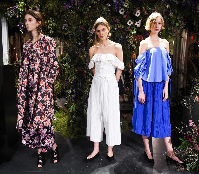 Club Monaco Spring 2017 Fashion Show