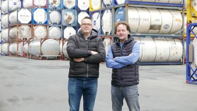 Co founders Leon & Jeroen