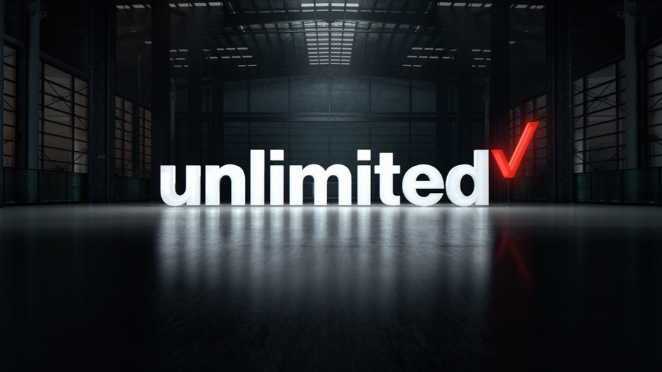 Not just unlimited, Verizon unlimited. Unlimited data on the Verizon network has arrived. For the first time, Verizon is offering an introductory plan that gives you unlimited data on your smartphone and tablet on the best 4G LTE network in the country. The unlimited plan you want on the network you deserve: Verizon Unlimited.