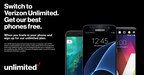 Switch to Verizon Unlimited and get the hottest phones FREE