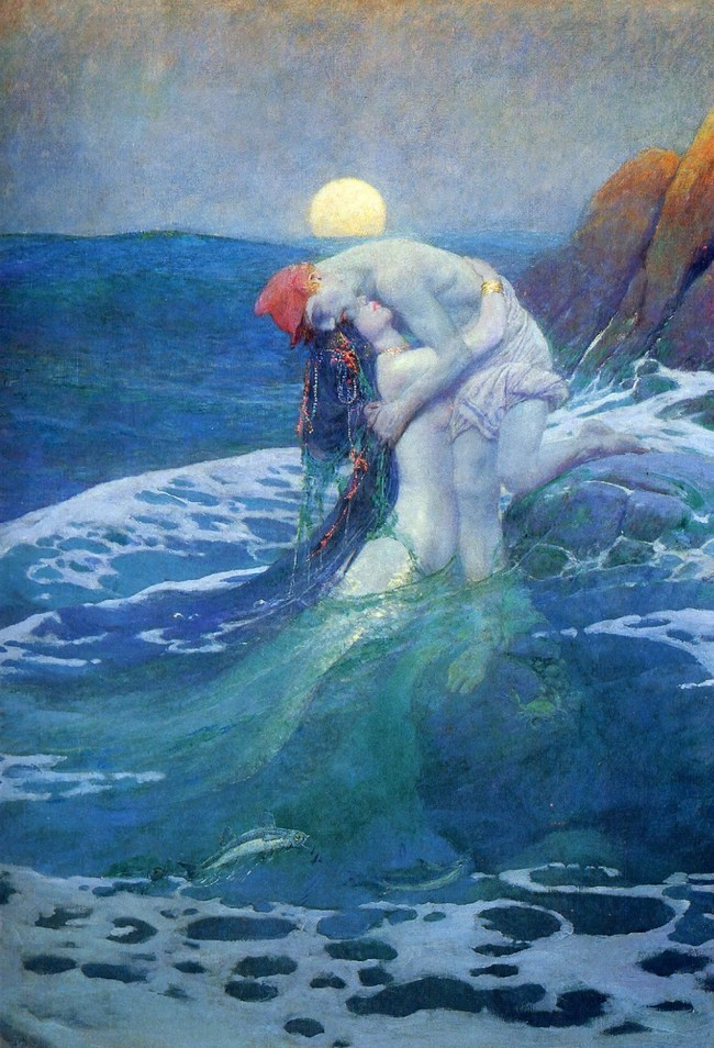 The Mermaid - by Howard Pyle
