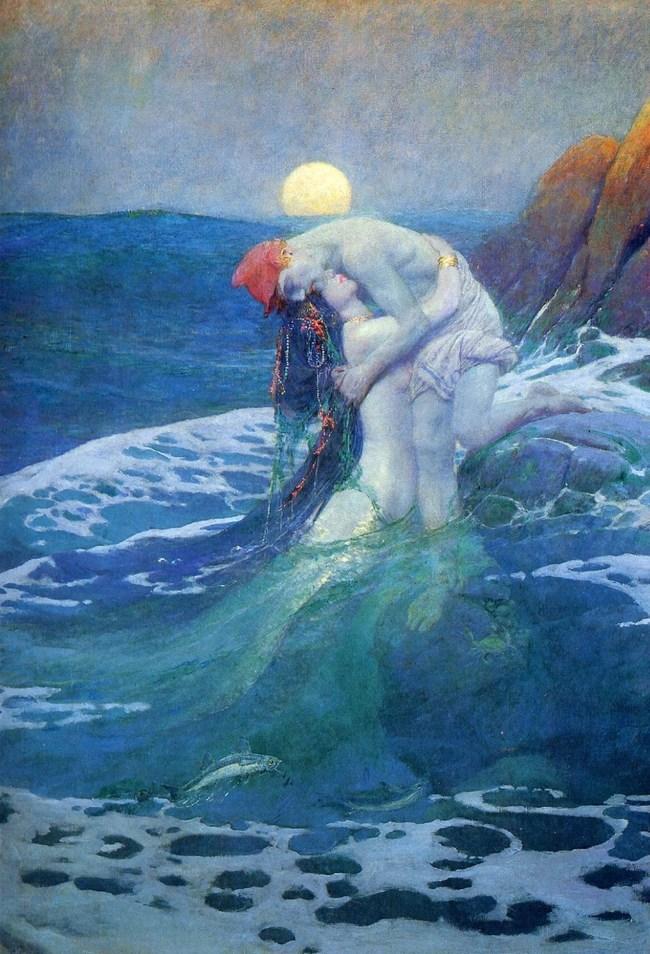 The Mermaid - by Howard Pyle