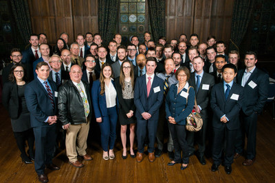 The 2016-17 Local CFA Institute Research Challenge participants. Photography courtesy of Bob Strle, bob@bobstrlephoto.com.