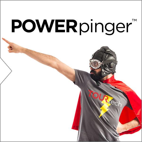 POWERpinger(TM) by TOURtech