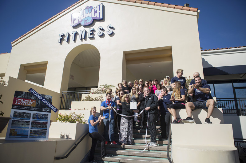Grand Opening Ribbon Cutting at Crunch San Clemente