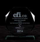 Park West Gallery Wins CFI.co's Best Independent Fine Art Auction House Global 2016 Award