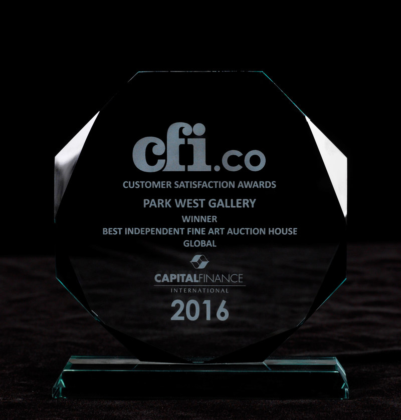 Park West Gallery received the 2016 CFI Award for Best Independent Fine Art Auction House. (Photo by Park West Gallery)