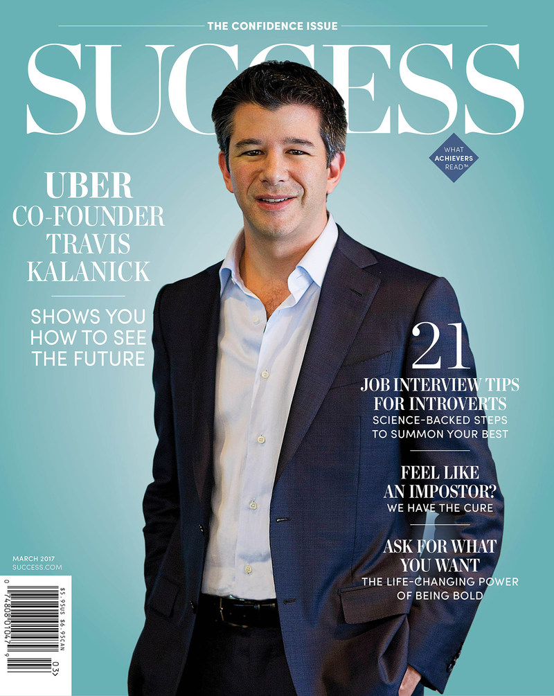 Discover how Uber co-founder and CEO Travis Kalanick leveraged his tech past to launch a company that transformed how we travel in the March issue of SUCCESS