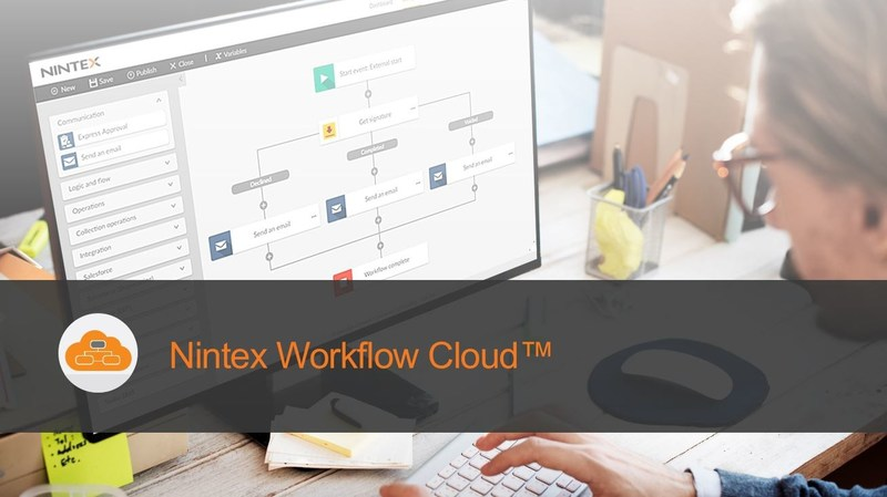 Nintex Workflow Cloud, the fastest, easiest cloud workflow platform for building powerful process automation solutions. Sign up for a free trial and learn more at Nintex.com.
