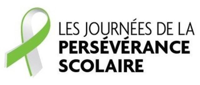 Logo : Les Journées de la persévérance scolaire (Groupe CNW/Réseau des Instances régionales de concertation (IRC) sur la persévérance scolaire et la réussite éducative du Québec)