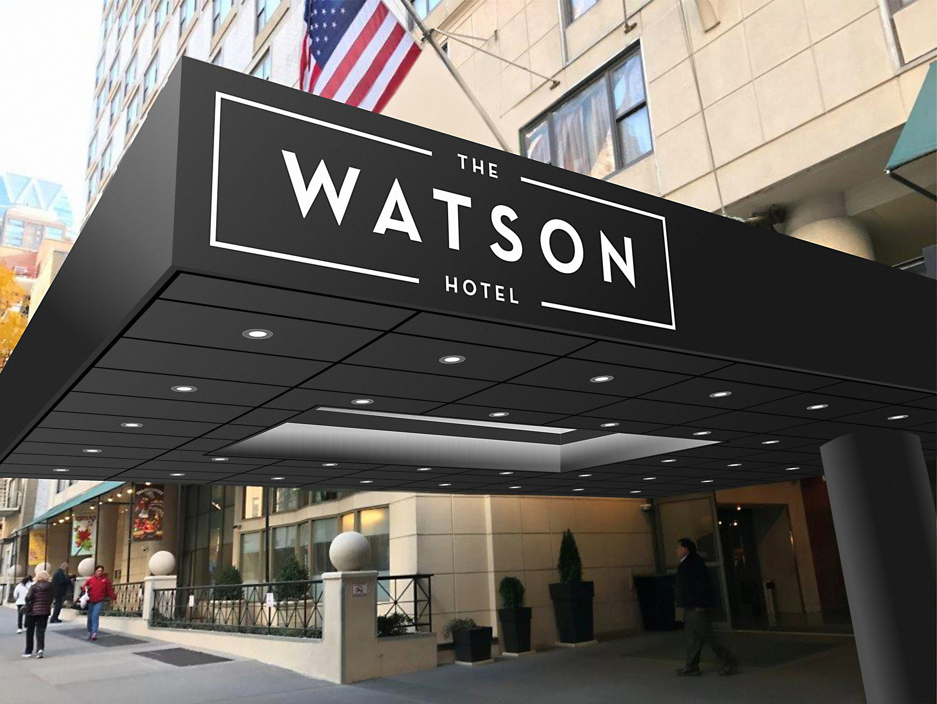 Watson Auto Sales >> Holiday Inn Midtown Goes Independent as The Watson Hotel