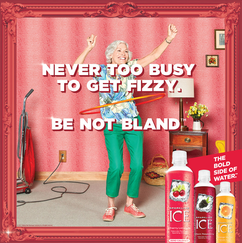 """Sparkling Ice(r) Unveils National Integrated Marketing Campaign """"Be Not Bland"""""""