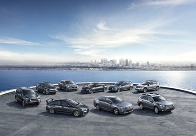 Subaru Canada nommé Meilleure marque grand public pour la troisième année de suite dans le cadre de la remise des prix ALG 2017 sur les valeurs résiduelles au Canada (Groupe CNW/Subaru Canada Inc.)